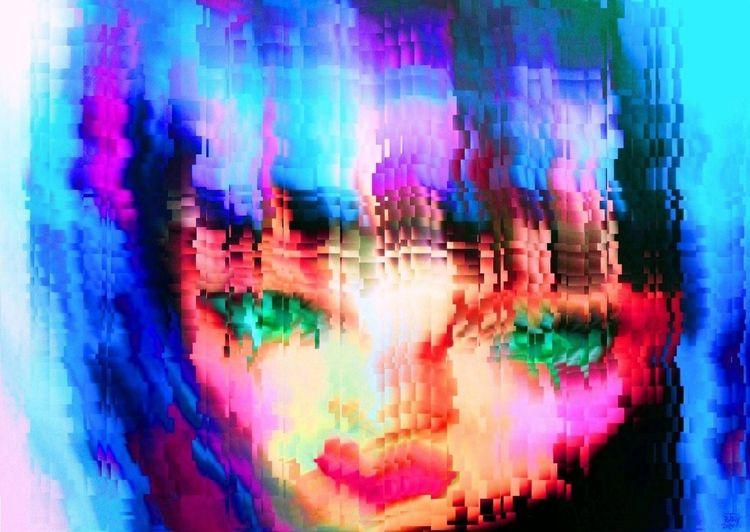 Shattered - art, digitalart, paint - rjayslais   ello
