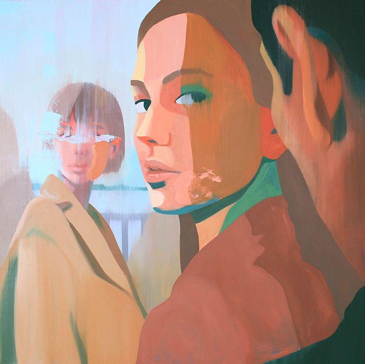 Amazing paintings Andrea Castro - nettculture | ello