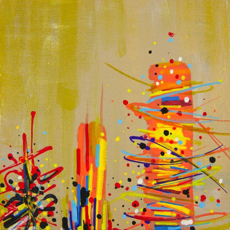 untitled 2020-018 acrylic, alco - dominiquevial | ello