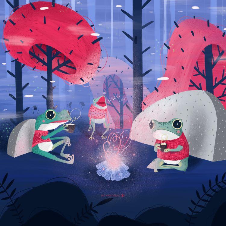 Les grenouilles dansent boivent - lesaventuriers   ello