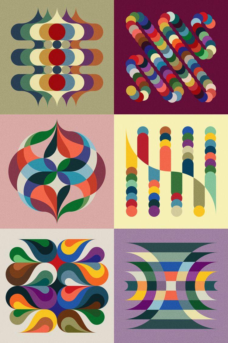 Groovy Twist - 2O2OVlSlONS - mwm_graphics | ello