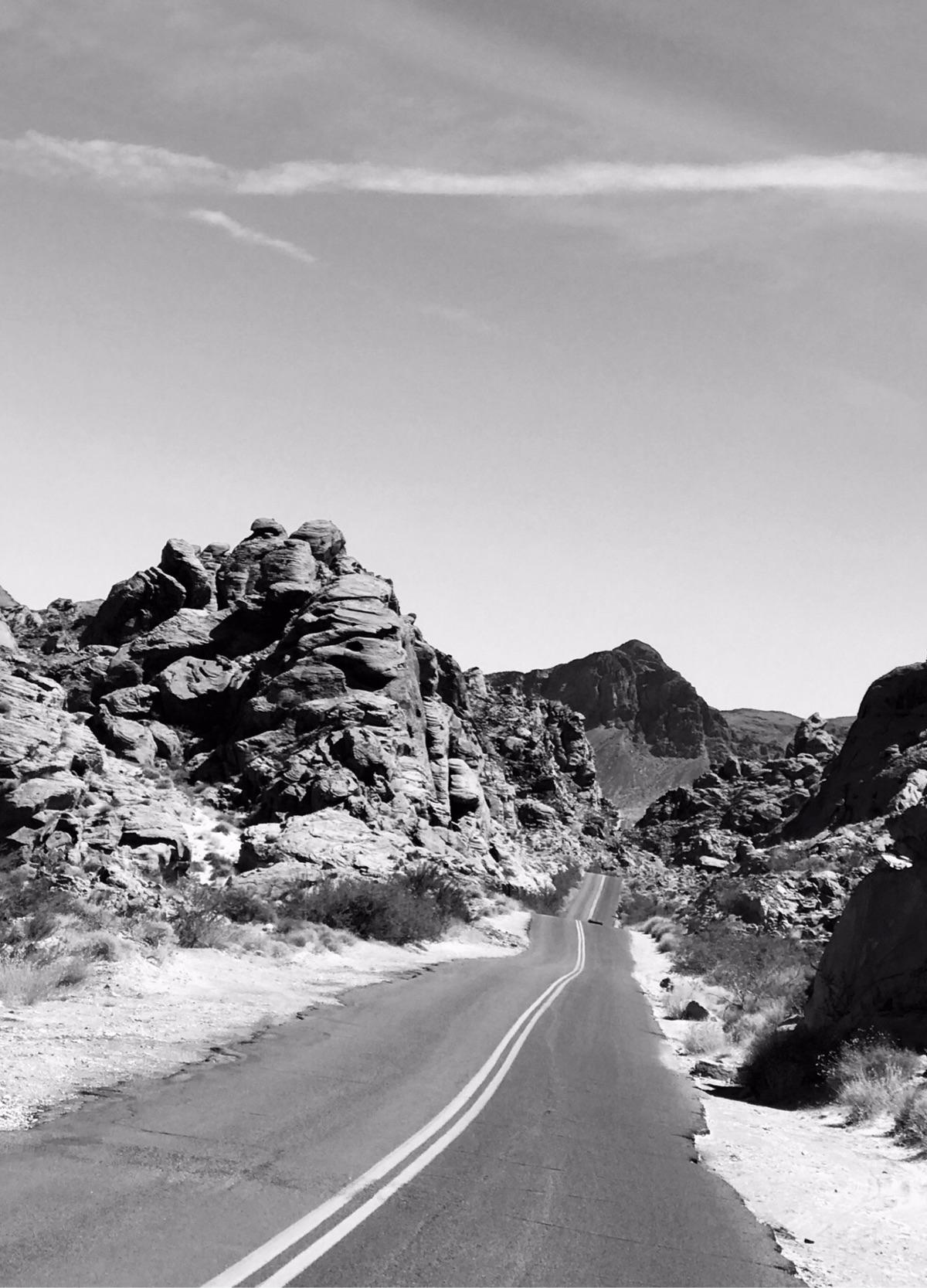 Scenic drive Valley Fire - jrs1966 | ello