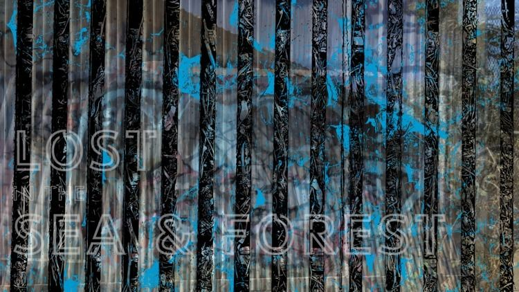 Sea Forest - Black, Blue, art, headplant - headplant | ello