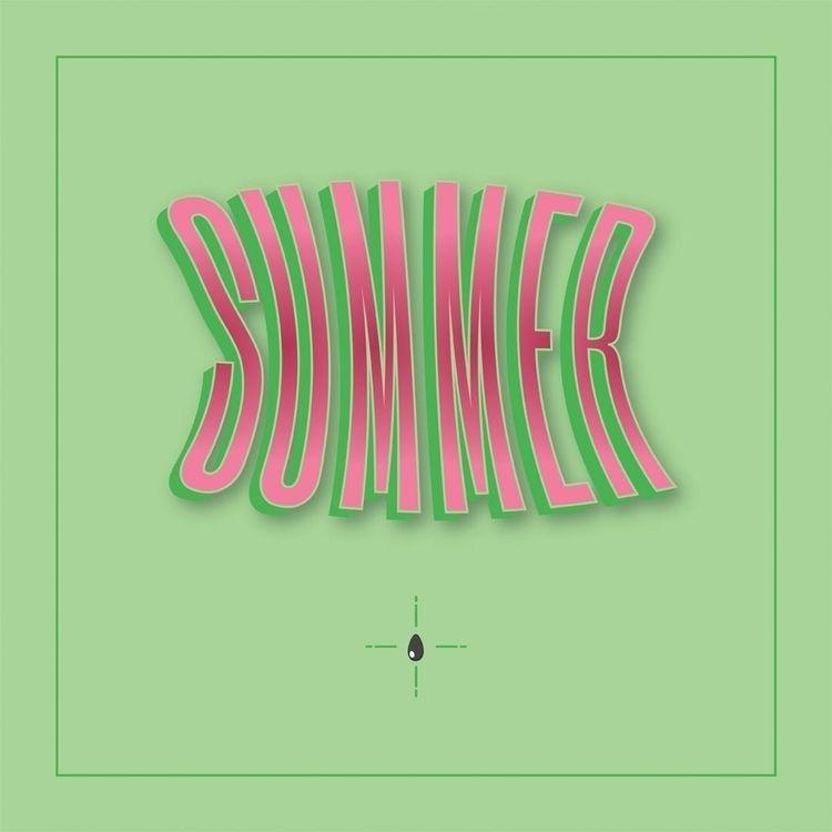 Watermelon Summer. type design  - christovw   ello