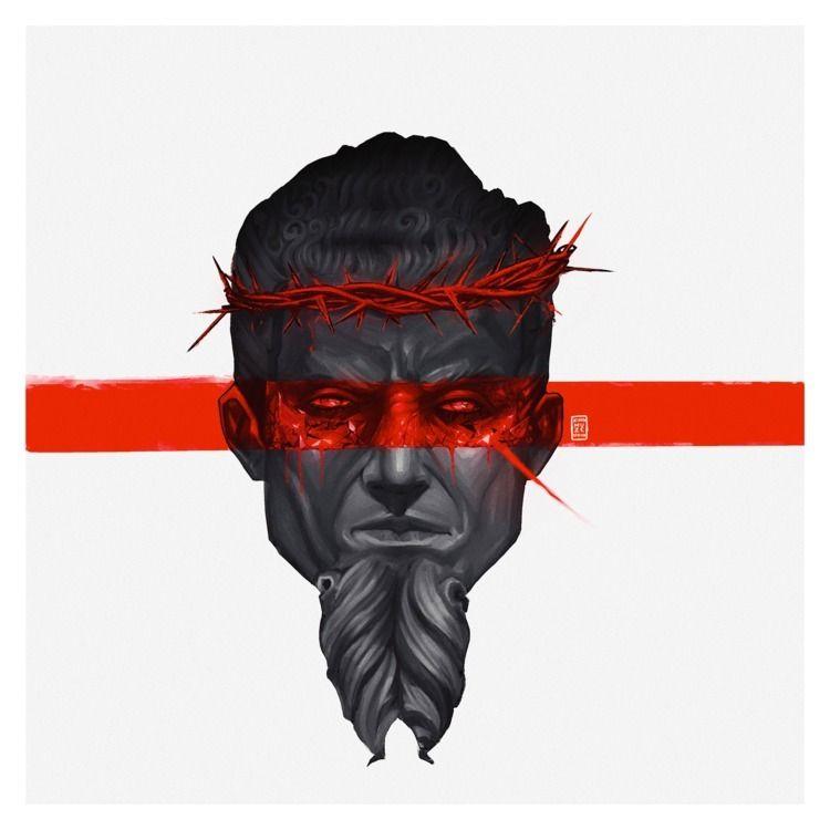 Hades 2020. Digital Painting Pr - kingmuze | ello