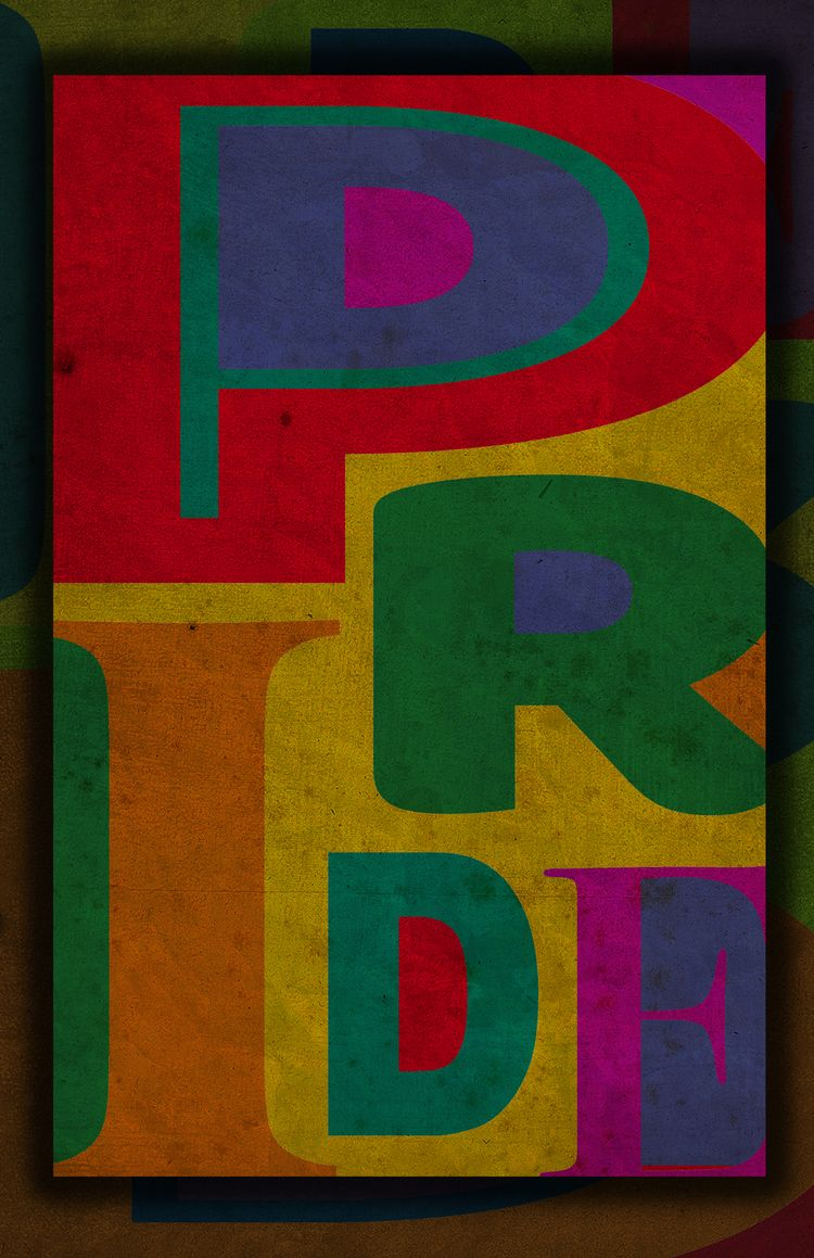 PRIDE - Hatch Poster Art Graphi - vass   ello