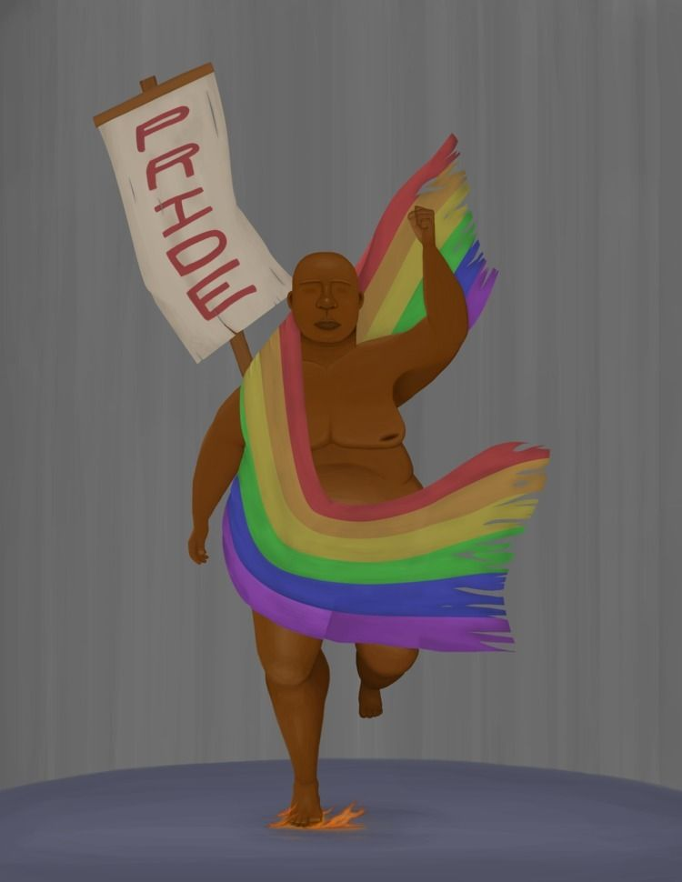 Pride foremost protest welcomes - jeremiahonor | ello