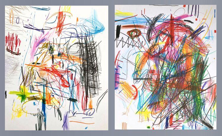 Denial (Coloured Pencil drawing - dirkmarwig | ello