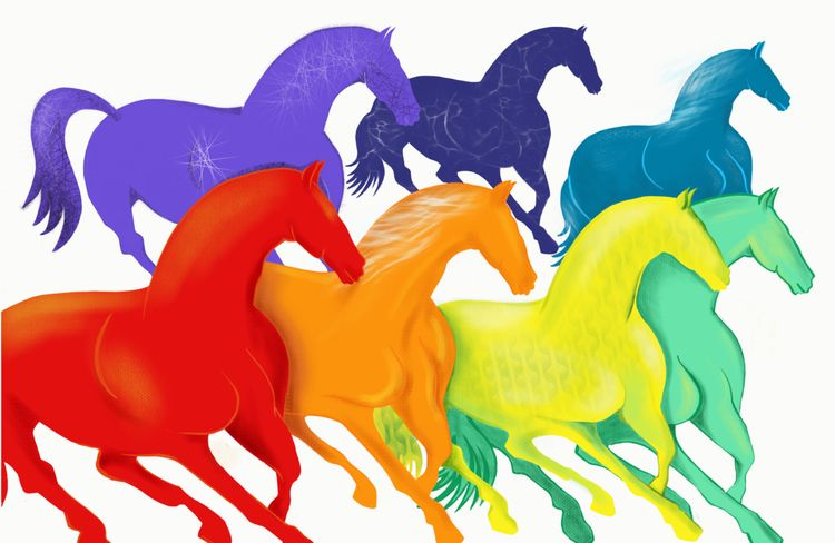 Chasing Rainbows! illustrator a - swarnali   ello