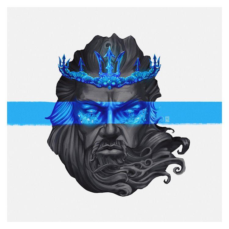 Poseidon King Muze - digital pa - kingmuze | ello