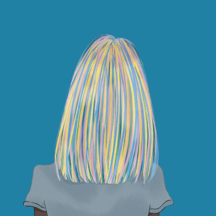 Rainbow Hair colour free choose - wildflower86 | ello