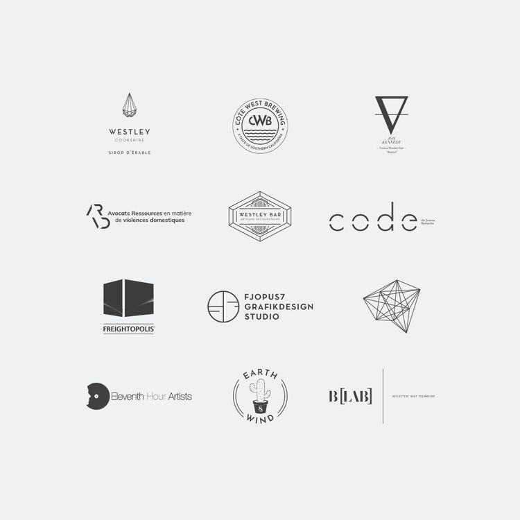 LOGOS — Designed logos selectio - fjopus7_grfk | ello