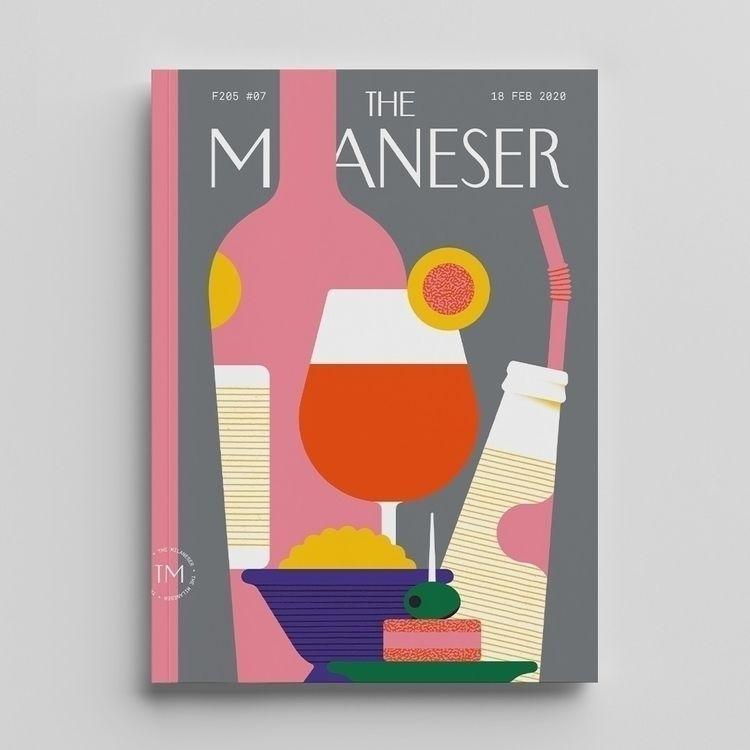 Cover Milaneser aperitivo - illustration - alconic | ello