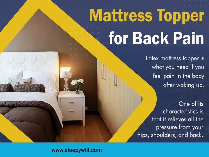 Find mattress topper pain pain - sleepywill   ello