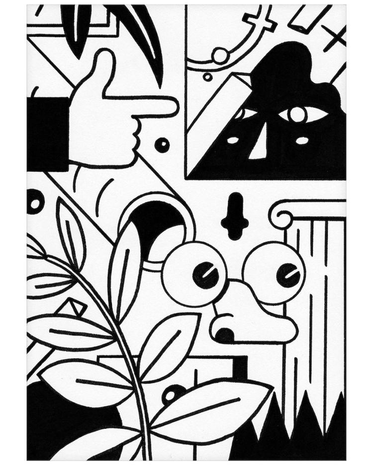 Sneaky Eyes - illustration, characterdesign - jorenpeters | ello