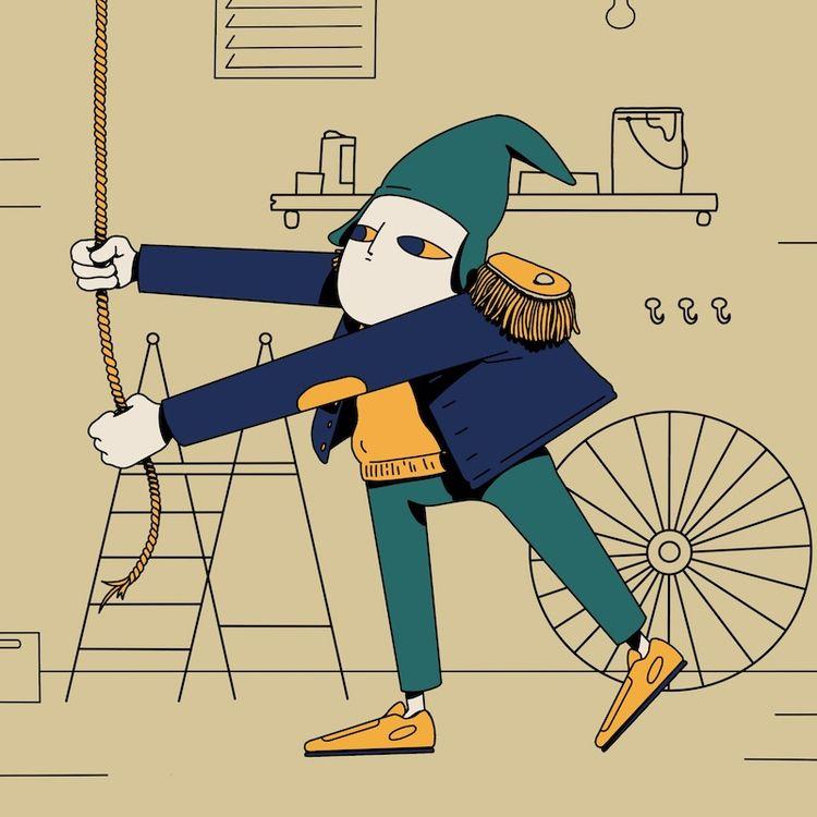 possibly wrong - illustration, characterdesign - jorenpeters | ello