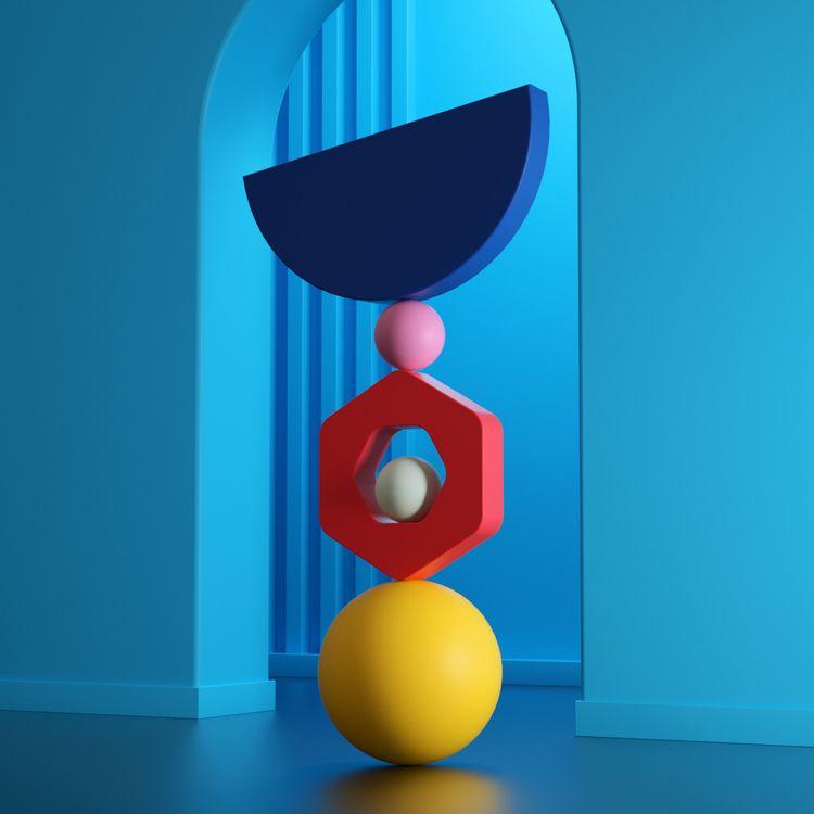 Balance (2 - ello, design, digitalart - cadenascarlo | ello