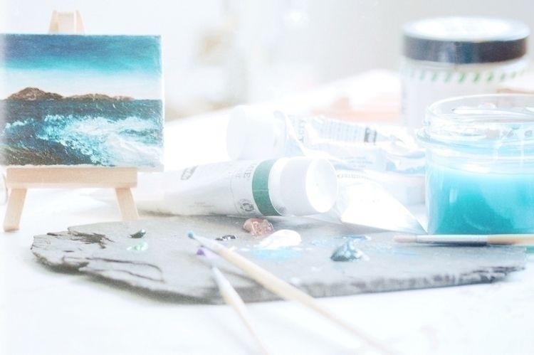 Ocean Painting Nell - present p - thearters | ello
