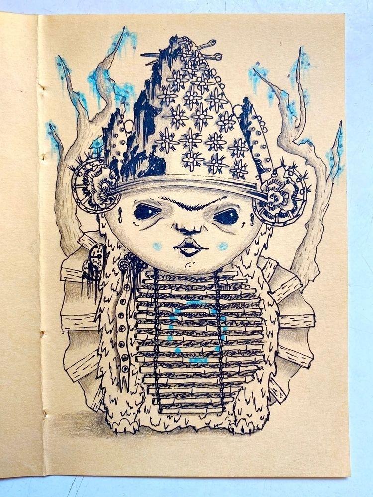 Stream consciousness drawing - art - boontucket   ello