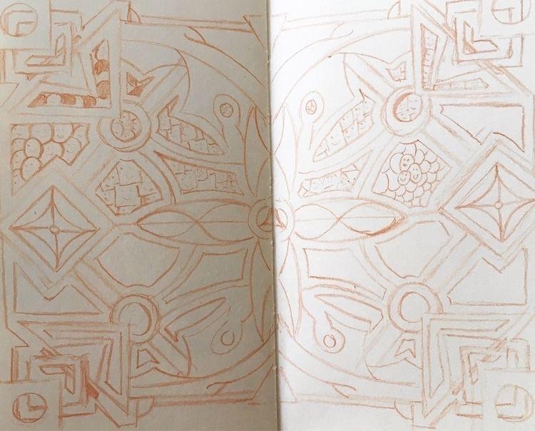 Sneak peek sketchbook spread pr - jmbcreative | ello