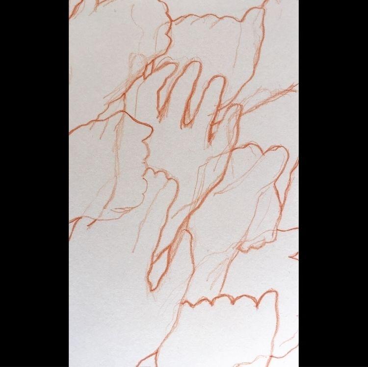 Hand contour studies - jmbcreative | ello