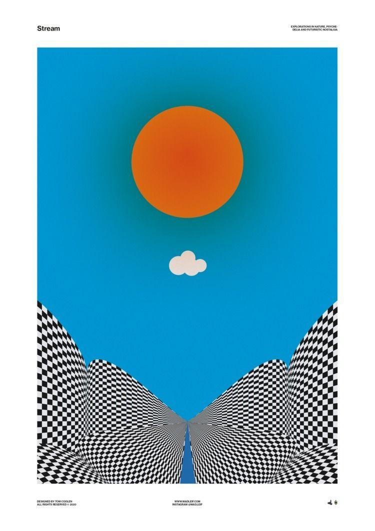 Stream - poster, posterdesign, graphicdesign - madleif | ello