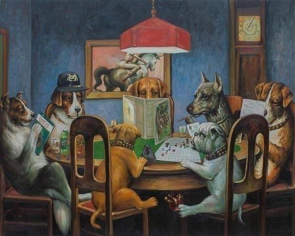 Dungeons Dragons art dogs Human - bonniegrrl | ello