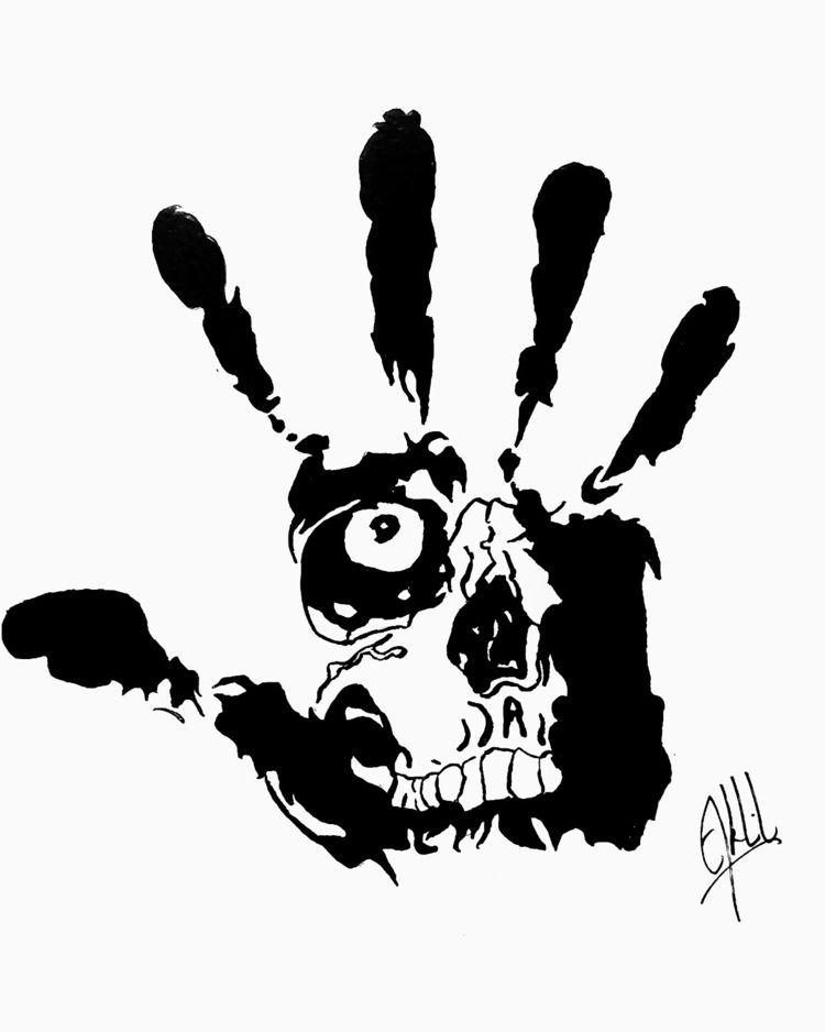 imagination, horror - darkart, darkness - akhilsart | ello