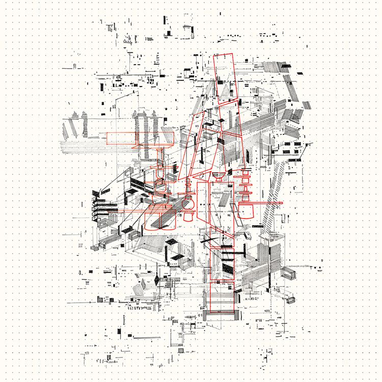 Art-chitectural hand drawing - millerink   ello