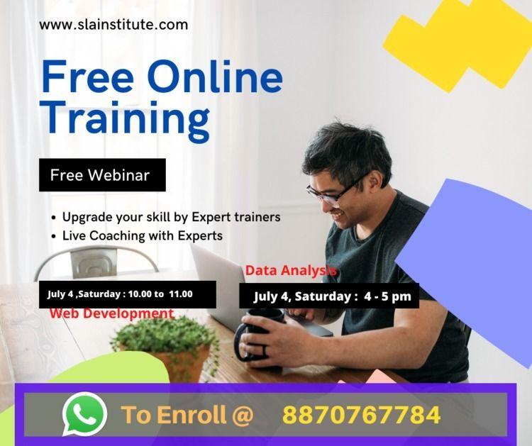 hosting FREE Webinar Web Develo - aravindraja | ello
