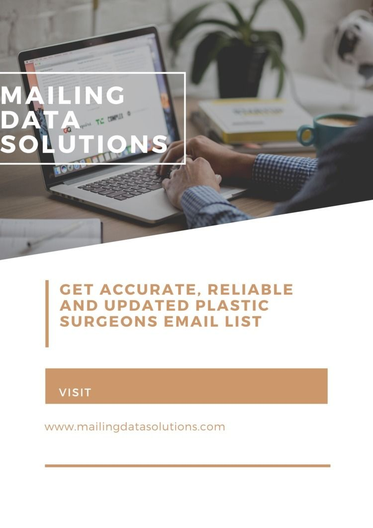 Plastic Surgeons Email List   M - mailigndatasolution   ello