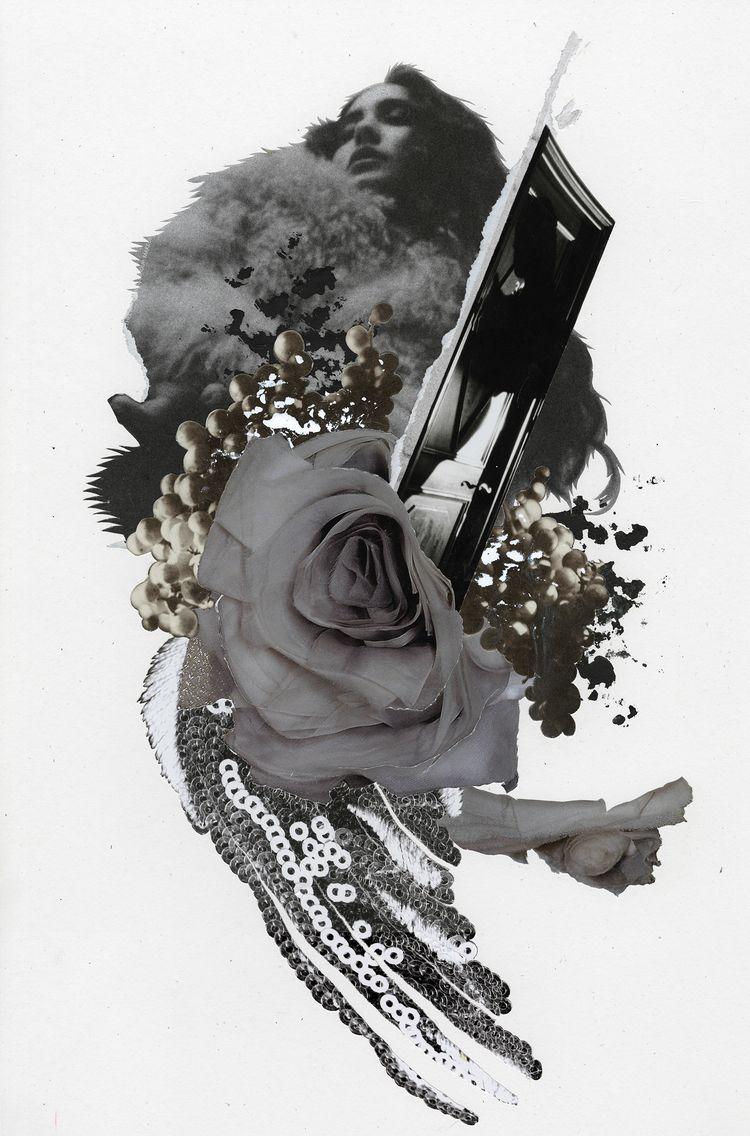 fig. 211 - Anaïs Nin — 2020 - collage - curtispatrickarnold | ello