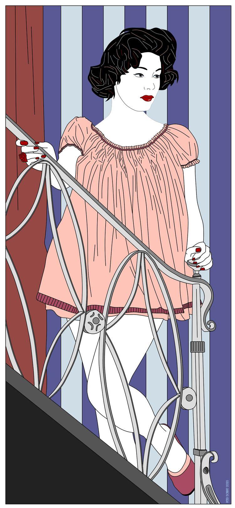 Goodnight - Pop Art Peter Tschi - pop_art | ello