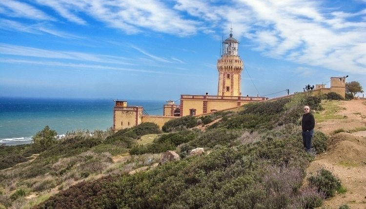 Le phare de Cap Ivi (1898) sur  - abderrahmanedjelfaoui | ello