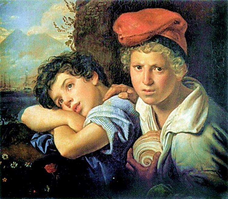 Neapolitan boys-fishermen, Ores - zorrojacques | ello