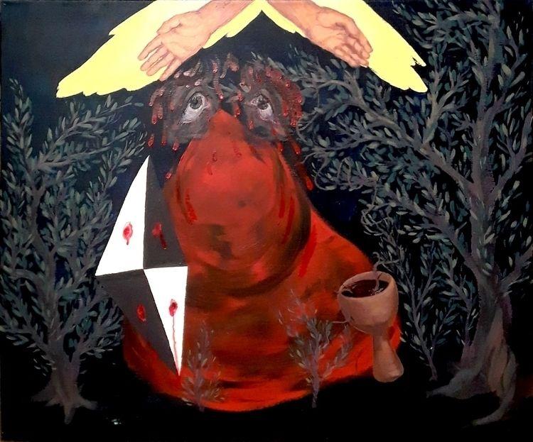Gethsemane - Acrylic Canvas 201 - kaupaint   ello
