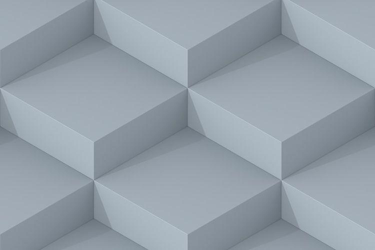 Grey Square Abstract Background - dmitrykovalev   ello