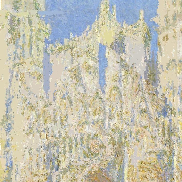 Hack Monet: Rouen Cathedral - paulsmedberg | ello