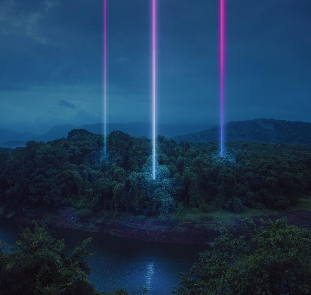 Dark paradise - digitalart, neon - riazhassan   ello