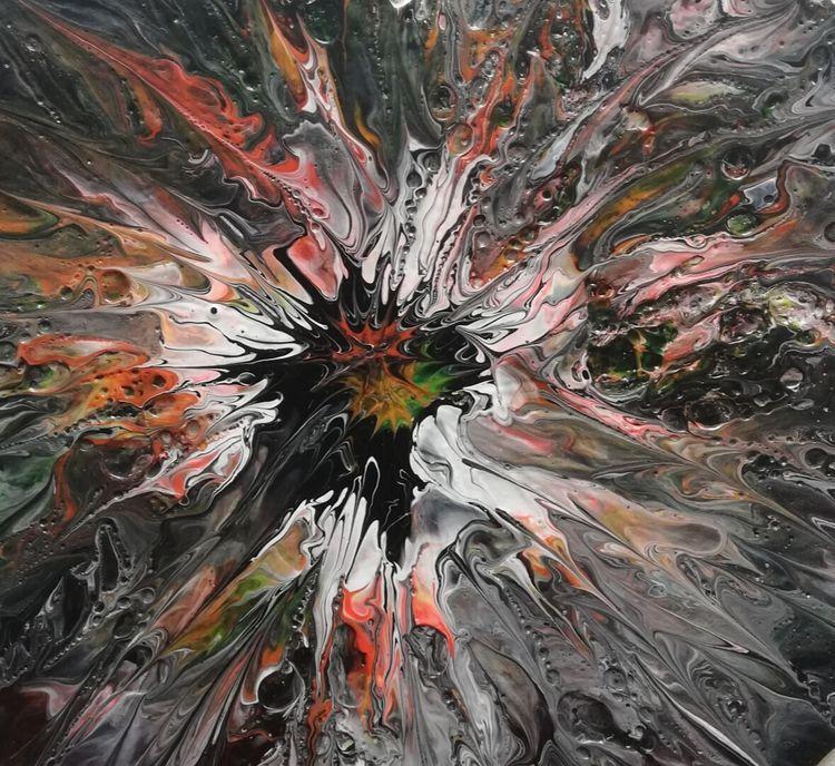 Big Bang - Acrylic Paint - therainbowfairy | ello