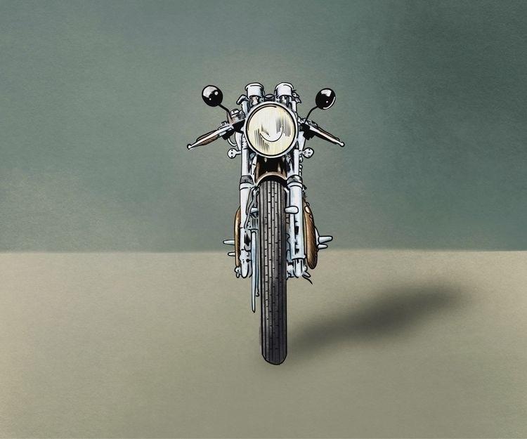 Café Racer - motorcycle - julianhenderson | ello