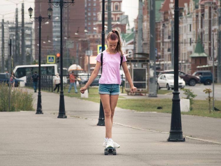 girl skateboard - zabya   ello