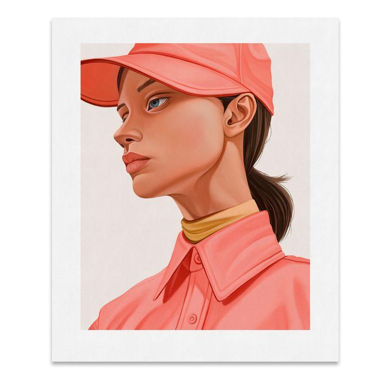 Woman pink shirt Archival pigme - eunjeongyoo | ello