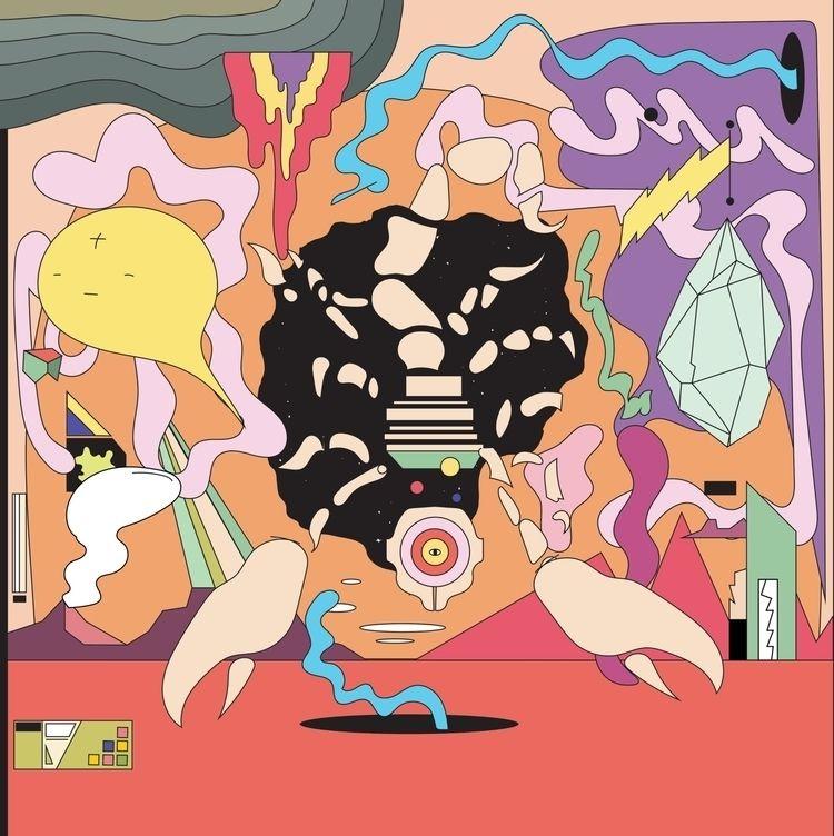 Album artwork surf rock band, B - jbartell32   ello