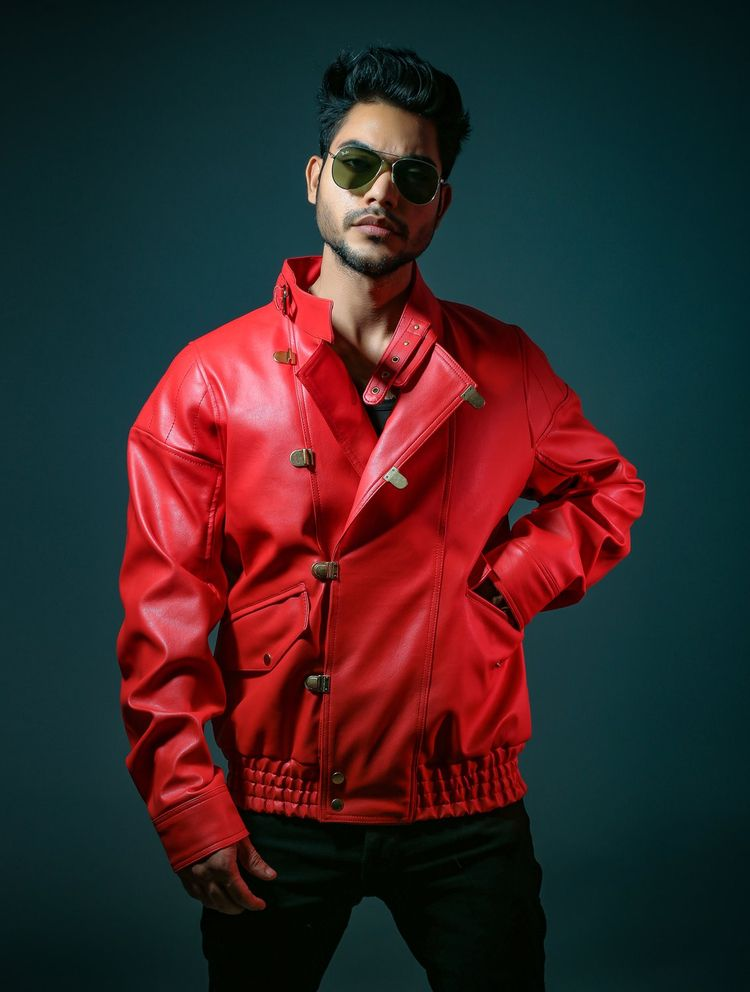 red custom jacket inspired cost - deni_robert | ello