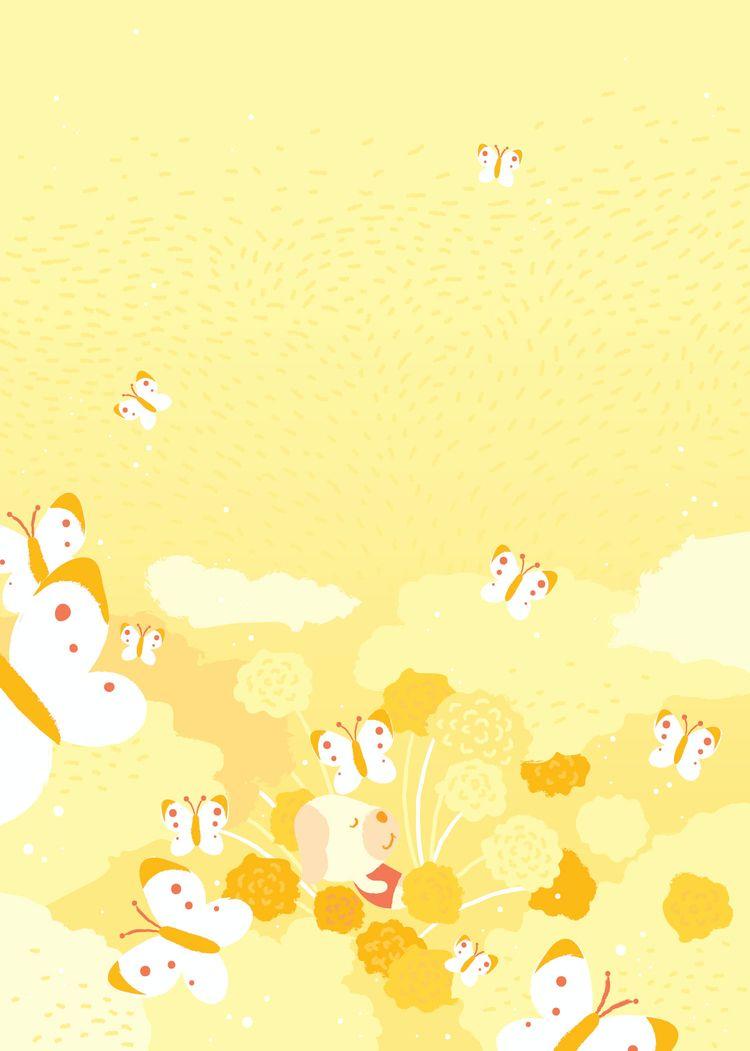 Goldie field marigolds - animalcrossing - yushinkato | ello