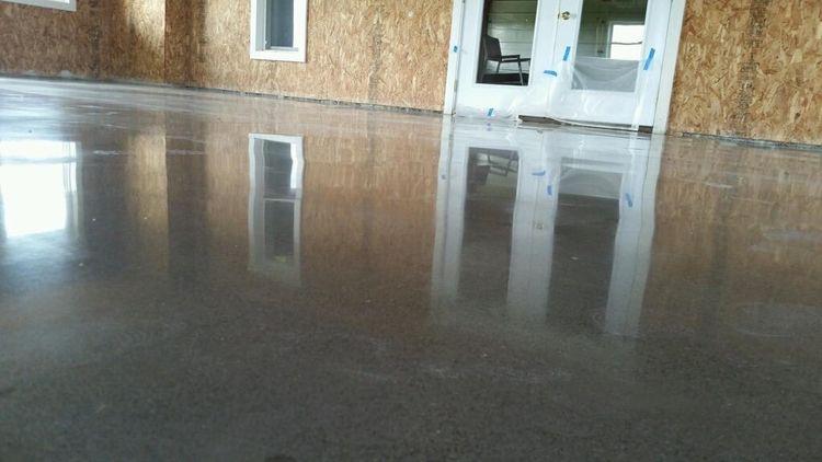 Polished concrete perfect floor - hoosiersurfaces | ello