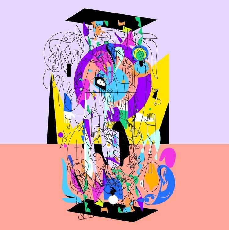 'Disassembly' (2020 - illustration - jbartell32   ello