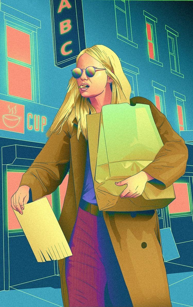 Annie Maniac - illustration, vector - nixx0r   ello