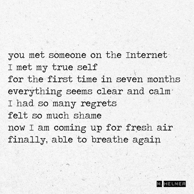 met Internet true time months c - helmer_poetry | ello